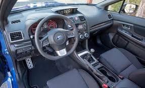 2013 Sti Interior 2015 Subaru Wrx Sedan First Drive U2013 Review U2013 Car And Driver