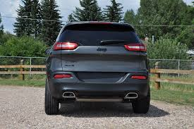 jeep cherokee back 2015 jeep cherokee altitude 4x4 worthy of the name review the