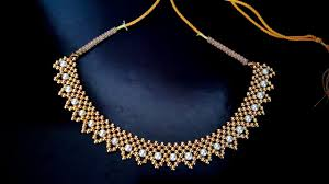 beaded pearl necklace images Beaded necklace tutorial for brides how to jpg