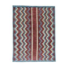Red And Blue Persian Rug by Closeout
