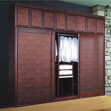 modern badroom sliding door wooden clothes almirah designs with