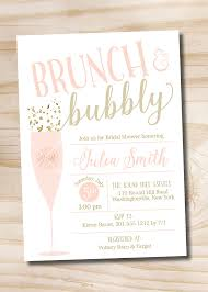 rehearsal brunch invitations brunch and bubbly bridal shower invitation confetti glitter