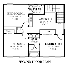 2920 house plan floor plans blueprints architectural drawings