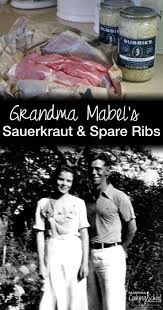 grandma mabel u0027s sauerkraut and spare ribs traditional cooking