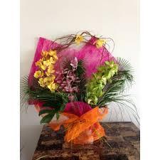 orchid flower arrangements orchid flower bouquet event flowers ny