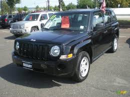 2007 Black Clearcoat Jeep Patriot Sport 4x4 7635119 Gtcarlot
