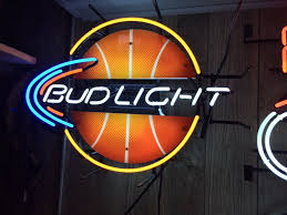 bud light neon light basketball neon bud light the packrats den