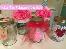 Valentine S Day Themed Party Decorating Ideas by Dollar Tree Diy Valentine U0027s Day Decor Jars Youtube