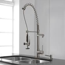 commercial style kitchen faucets kitchen makeovers kitchen faucet with sprayer touch sensitive