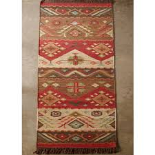 Outdoor Kilim Rug by Native Blanket Flatweave Wool Kilim Rug Shades Of Light