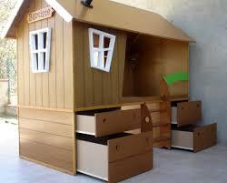 lit enfant ludique cabane chambre enfant diy lit cabane pour une chambre zoom
