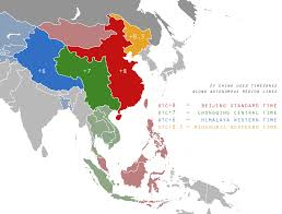 Us Map Of Time Zones by If China Used Timezones Based On It U0027s Autonomous Regions Rather