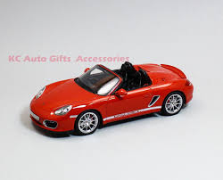 porsche boxster red gt spirit gt017a porsche boxster spyder red 1 18 scale resin car