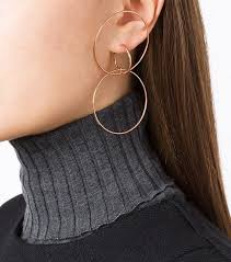 ear piercing hoop the ear piercings that are in and out for 2017 whowhatwear