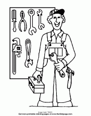 construction tools coloring pages construction tools coloring pages clipart panda free clipart