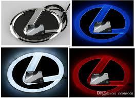 lexus emblem high quality 4d car led logo symbols badge emblem for lexus