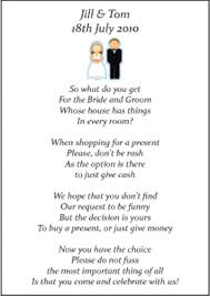wedding registry money for house excellent money poem for wedding invite 94 on wedding invitations