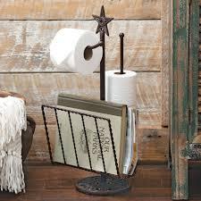 western decor western bedding western furniture cowboy decor star toilet paper magazine rack