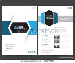 annual report elegant geometric flat design template download
