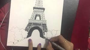 super reem eiffel tower sketch youtube