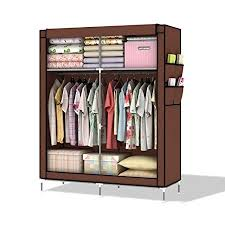 clothes cupboard intirilife lockable and foldable wardrobe shelving system with