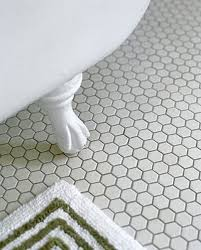 37 black and white hexagon bathroom floor tile ideas and pictures
