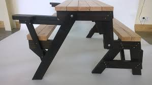picnic tables folding with seats enchanting folding picnic table bench folding picnic table bench