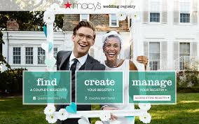 s bridal registry macys wedding registry