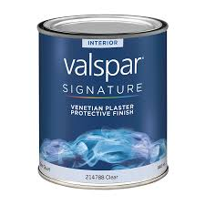 Valspar Kitchen And Bath Enamel by Shop Valspar Venetian Plaster Protector Satin Latex Interior Paint