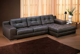 Leather Chaise Sofa Stunning Leather Chaise Sofa Leather Sofas With Chaise 31818