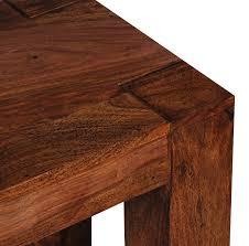 Esszimmer Bank Eiche Mit Lehne Wohnling Esszimmer Wl1 323 Sitzbank Massiv Holz Sheesham 160 X