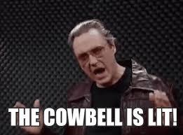 Christopher Walken Cowbell Meme - cowbell meme gif mne vse pohuj