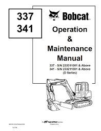 bobcat 341 excavator fuse box location chevy 350 tbi wiring