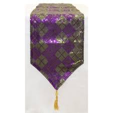 mardi gras table runner 72 mardi gras sequin argile table runner purple green ct920