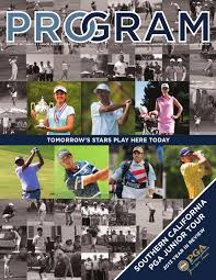 2013 program magazine junior golf edition by southern california
