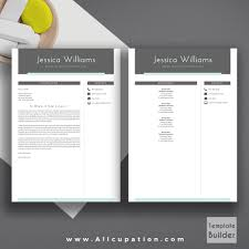 Cover Page Template Modern Resume Template Cover Letter 1 2 3 Page Template