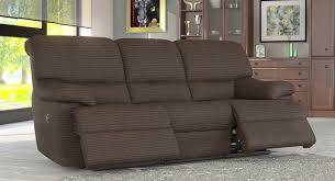 Reclining Fabric Sofa 3 Seater Electric Recliner Sofa