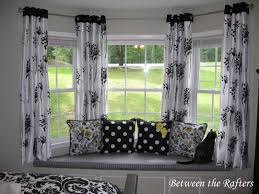 decor kitchen curtains ideas brilliant bay window couch free seat cabinets curtain ideas treatments bench