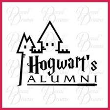 hogwarts alumni decal dumbledore s army car decal harry potter vinyl wall decor car