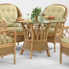 dining room awesome rattan dining room table design decorating