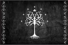 flag of gondor white tree of minas tirith