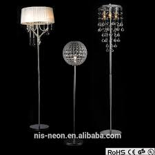 Crystal Chandelier Table Lamp Bedroom Standing Chandelier Floor Lamp Vintage Home Decorations