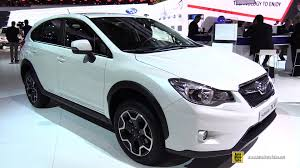 2015 subaru xv interior 2015 subaru xv 1 6i awd swiss two exterior and interior