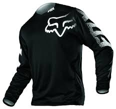 fox motocross gear for men fox racing blackout jersey revzilla