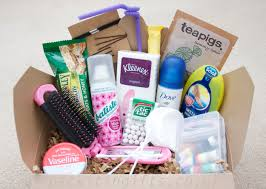 pack it in a gift hamper in a box