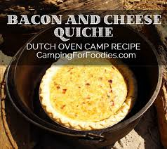 quiche cuisine az bacon and cheese oven quiche c recipe