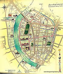 Bangkok Map Bangkok City Center Map Image Gallery Hcpr