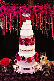 wedding cake m s these colors are so vibrant when compared with the white tiers