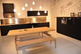 cuisine design bois cuisine design schiffini en bois et gomme
