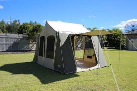 Side Awning Tent Canvas Tents Model 6139 Canvas Tent